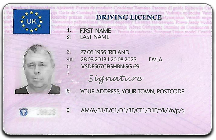 Driving Licence 4