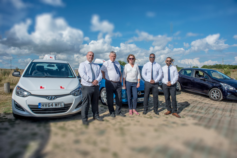 group of driving instructors