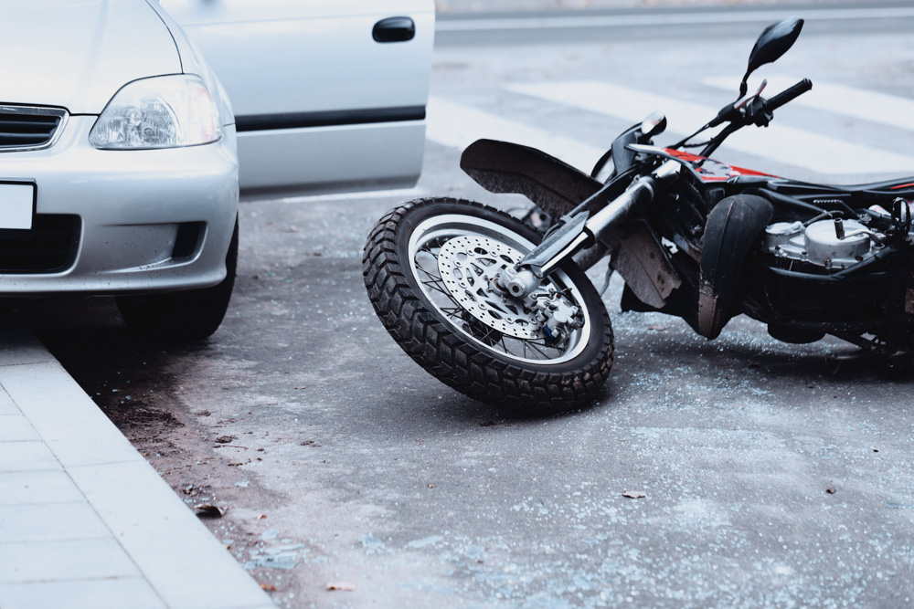 motorcyclist accident