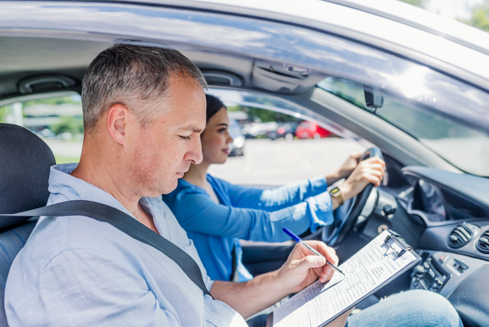 driving examiner