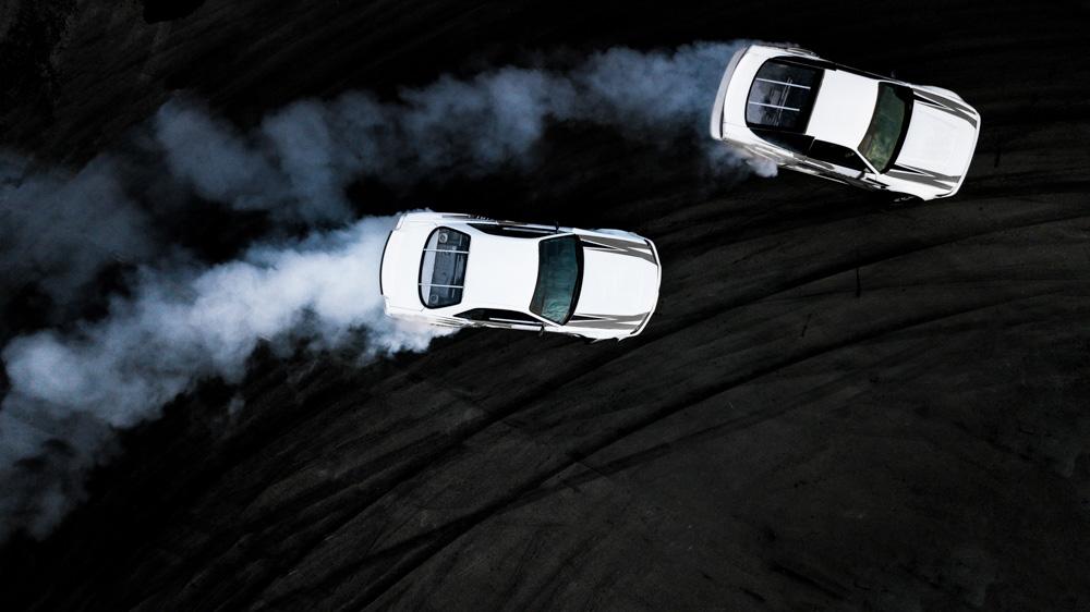 cars driving drifting