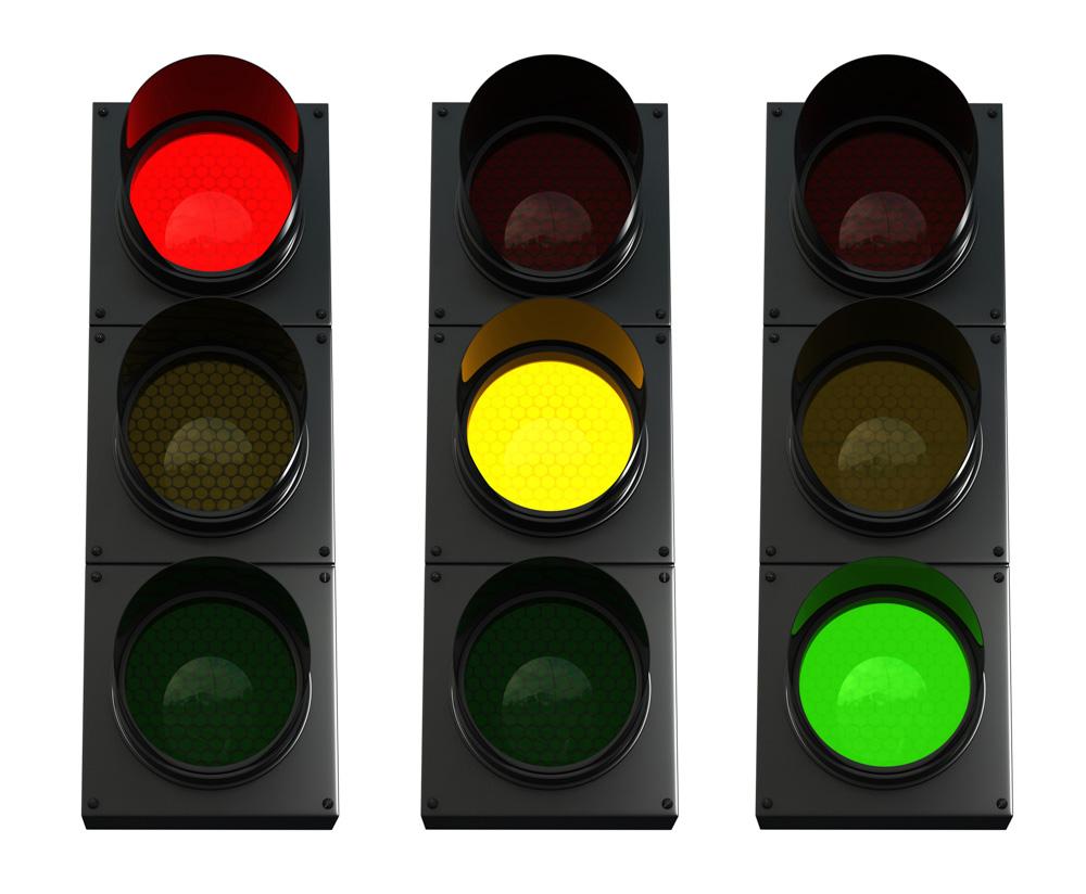 DVSA Syllabus Traffic lights