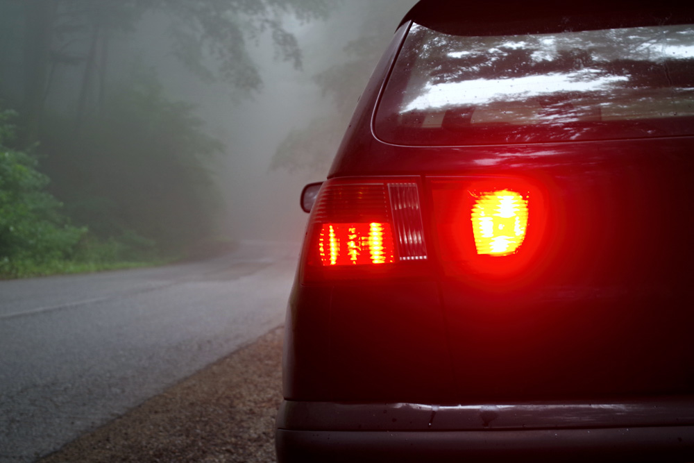 car fog light