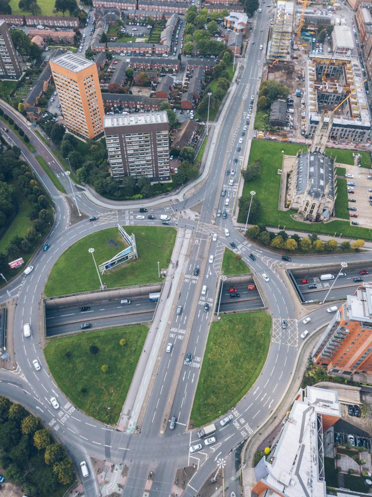 DVSA Syllabus Spiral roundabout