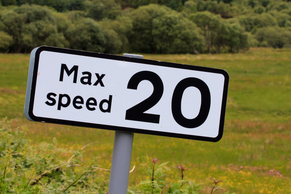 Advisory speed limit