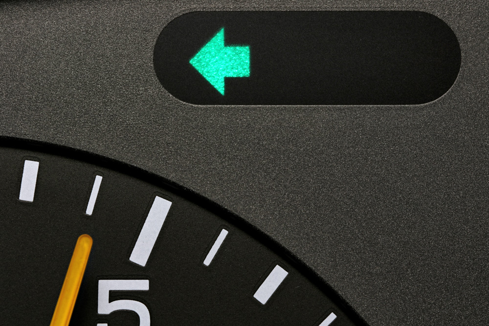 Car interior indicator light