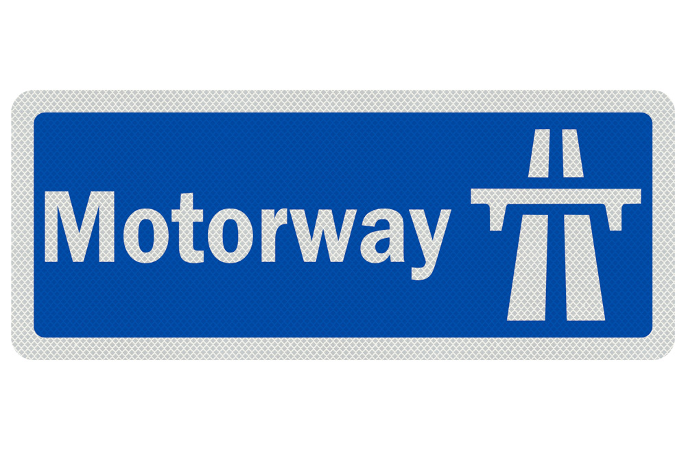 Motorway sign late 50's