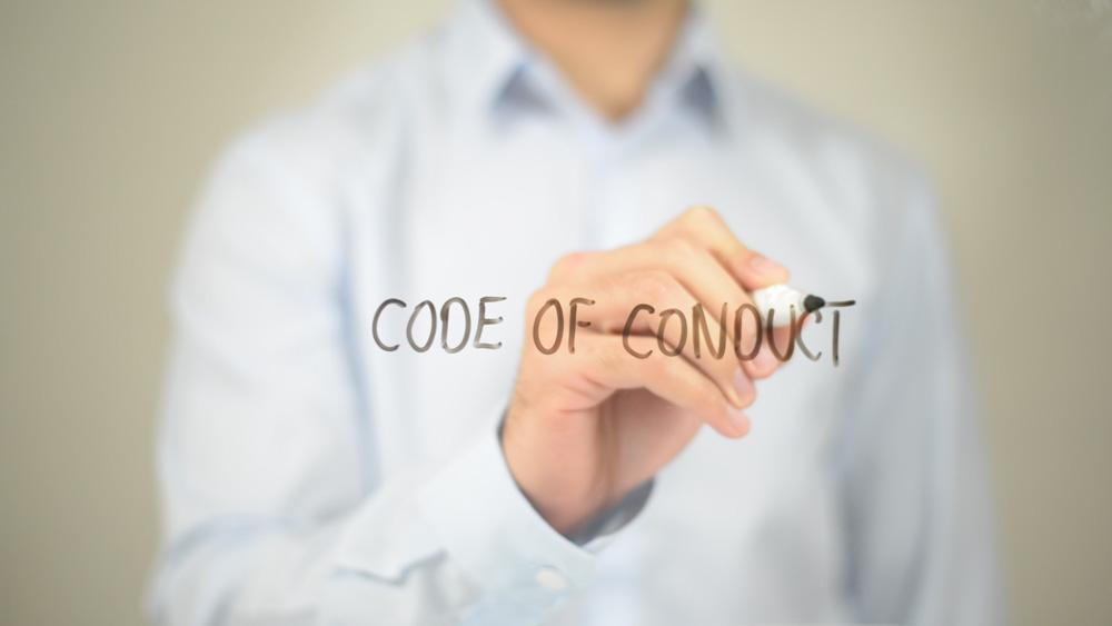 DVSA code of conduct