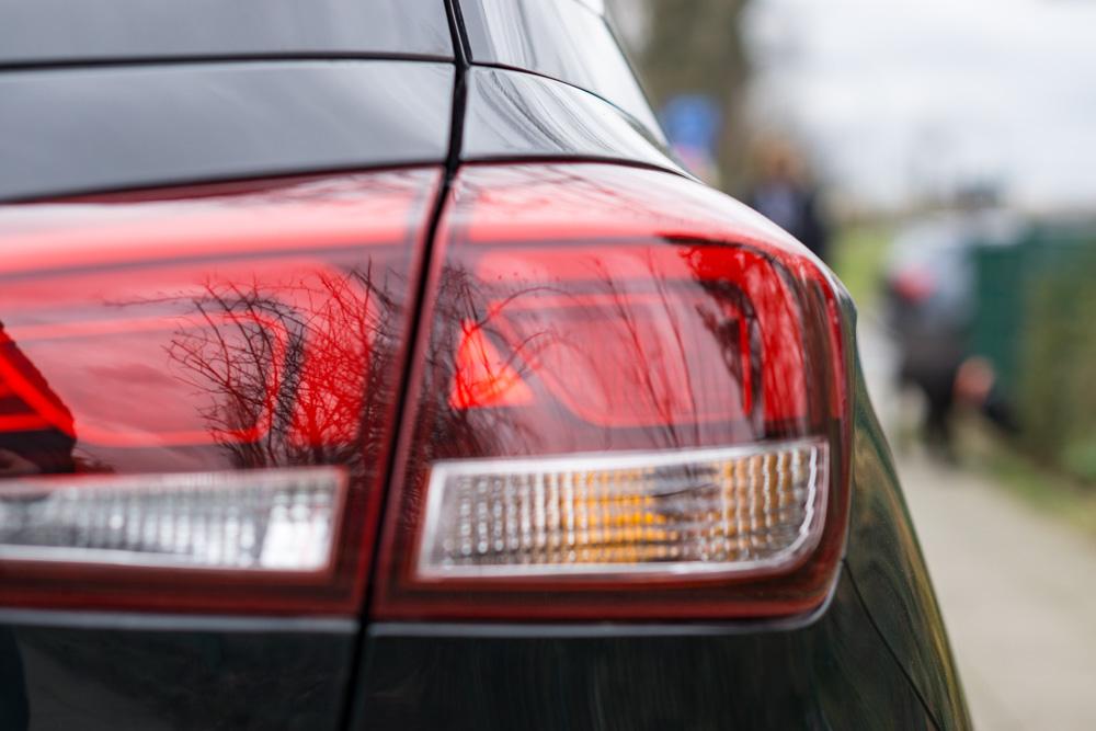 Car reversing light
