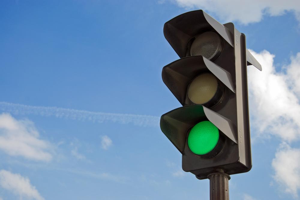 Green light-Go